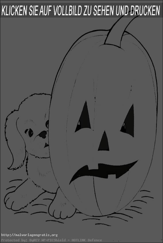 Malvorlagen Gratis  Halloween-19